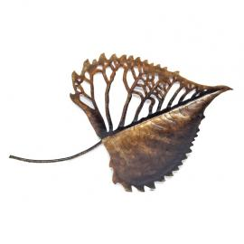 3D Leaf Wall Art Display Handmade Decor